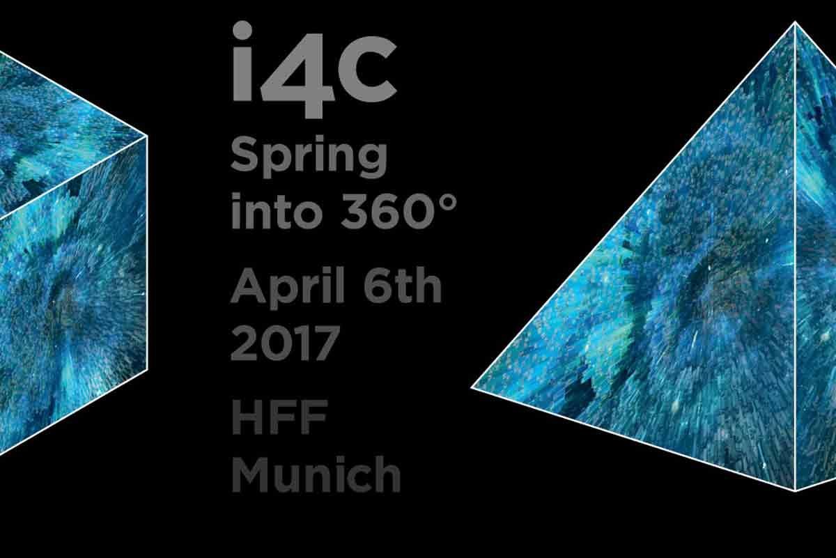 i4c: Virtual-Reality-Veranstaltung für 360-Produzenten in München