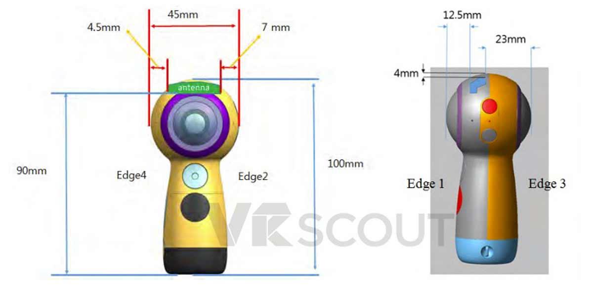 Samsung hat von der amerikanischen Zulassungsbehörde für Kommunikationsgeräte eine Freigabe für eine neue Gear-Kamera erhalten.