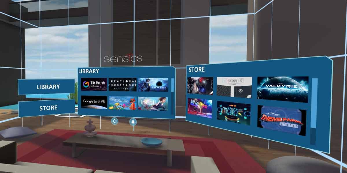 Analog zu Amazons Kindle kann Sensics Home Werbeanzeigen in der Virtual Reality anzeigen. Die VR-Brille könnte so günstiger werden.