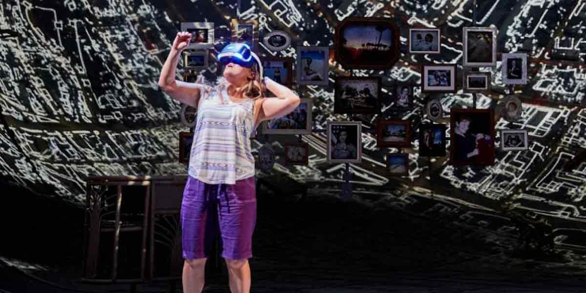 Dieses Theaterstück handelt von der Flucht in Virtual Reality