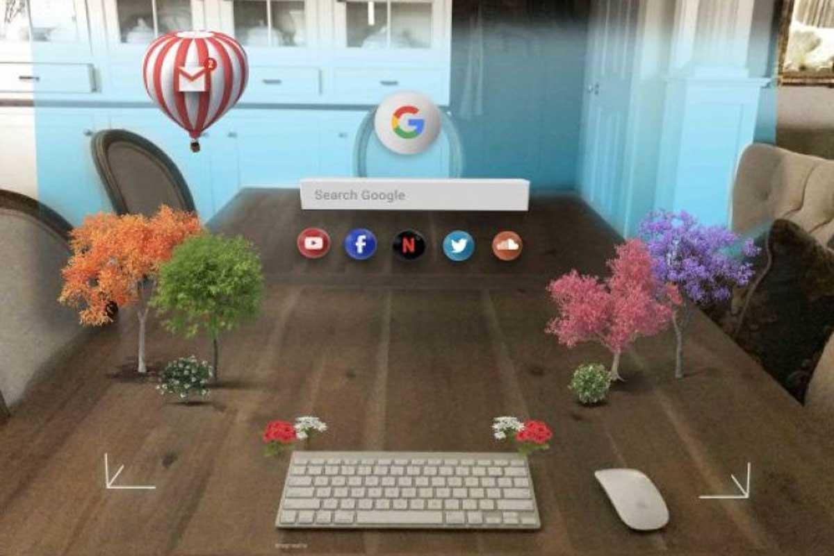 Wie könnte ein Browser aussehen, in dem der Inhalt dreidimensional dargestellt wird? Ein UX-Designer präsentiert ein spannendes Konzept.