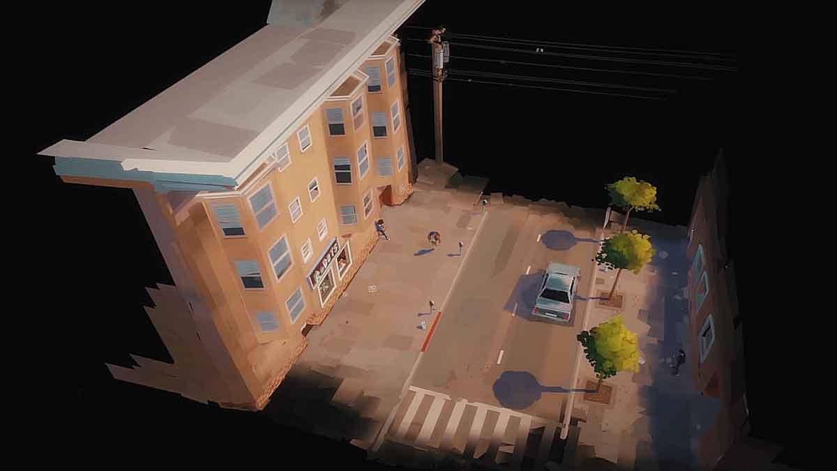Goro Fujita zeigt in einem Video eine vollanimierte Straßenszene, die mit einer noch unveröffentlichten Version von Quill erstellt wurde.