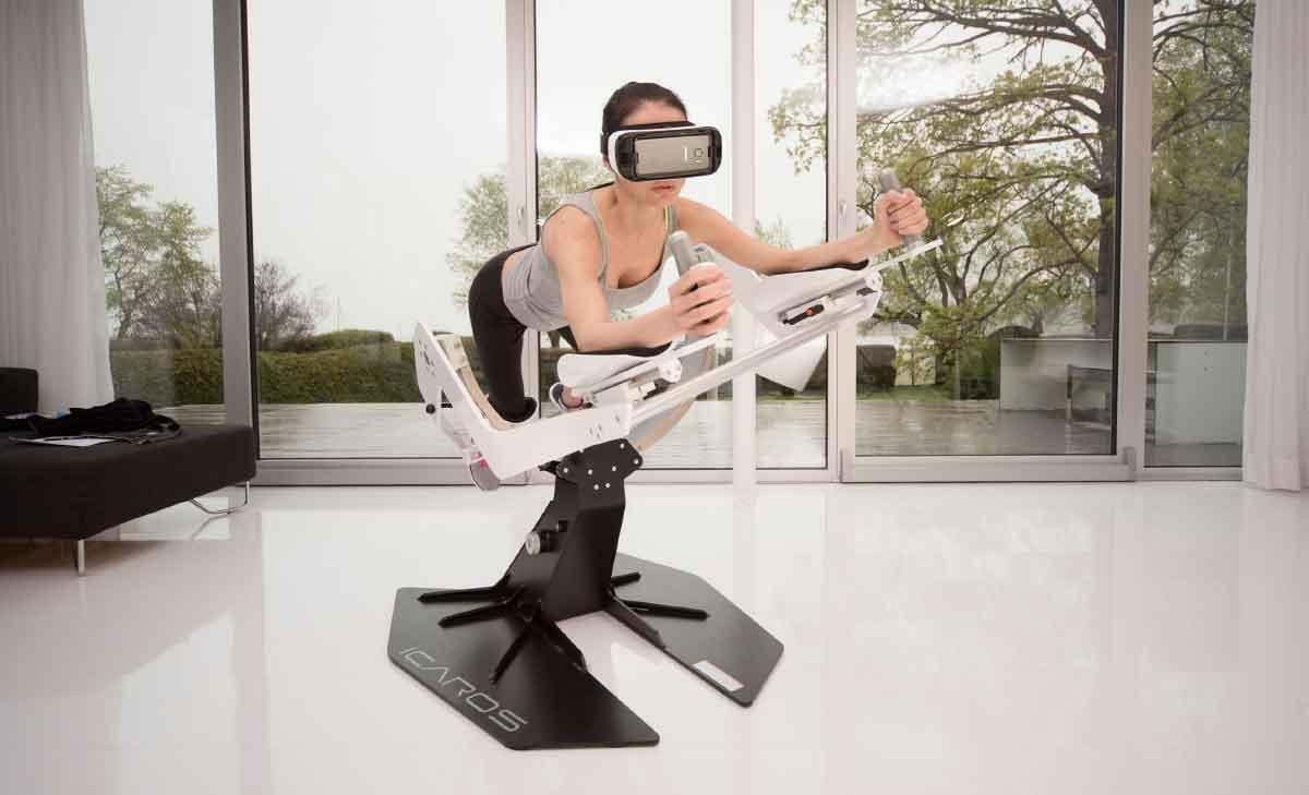 """Virtual Reality: """"Icaros"""" will Sport zum Erlebnis machen"""