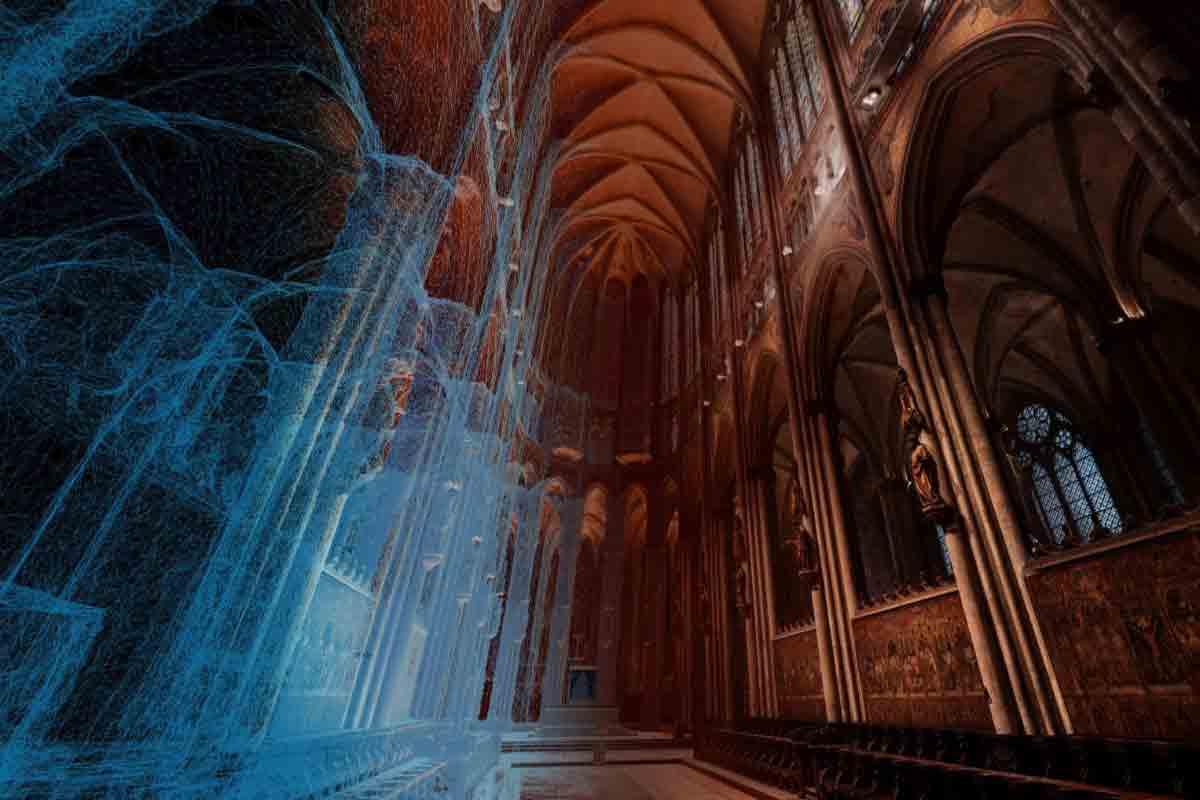 Im neusten Update kann man Bereiche des Kölner Doms besuchen, zu denen sonst nur Geistliche Zutritt haben.