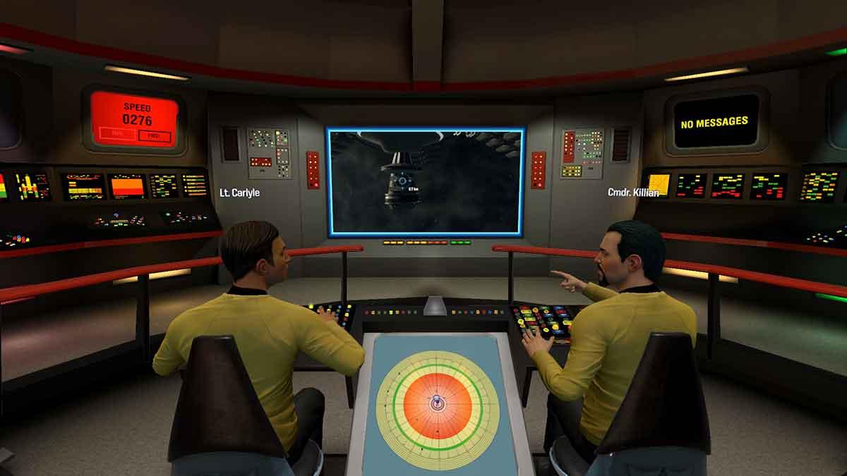 Im Spiel wird man wahlweise die Kommandobrücke der originalen U.S.S. Enterprise besteigen können. Ein Video macht die Unterschiede deutlich.