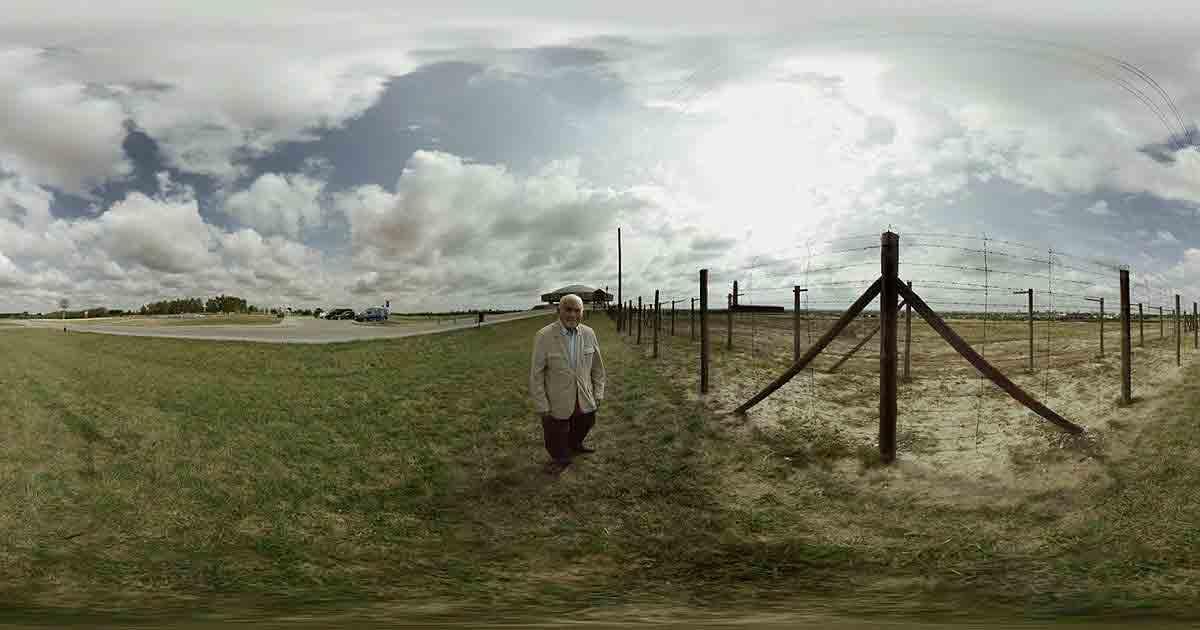 Der Holocaust-Überlebende Pinchas Gutter reist ein letztes Mal ins KZ Majdanek, um von den Schrecken des Lagers Zeugnis abzulegen.