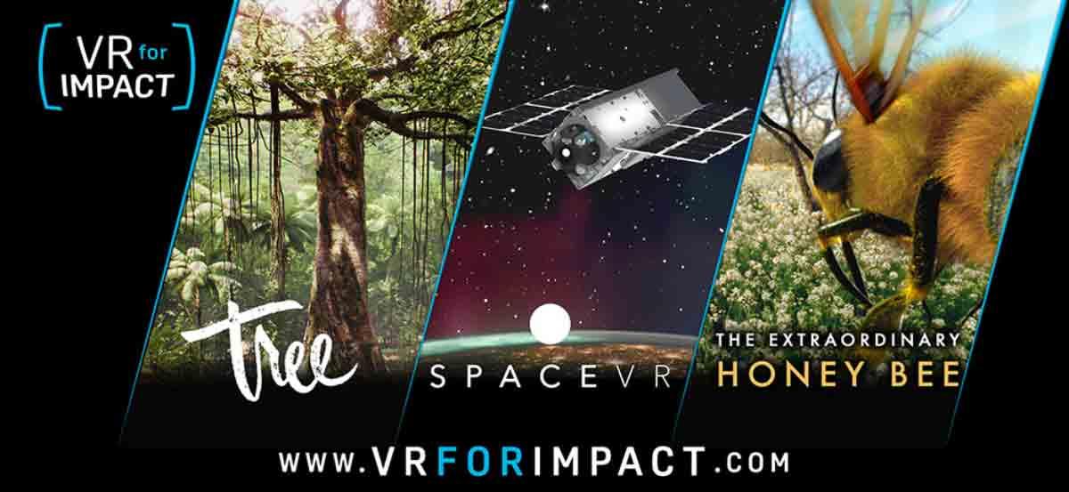 """Mit """"VR for Impact"""" sollen gemeinnützige VR-Projekte unterstützt werden. HTC hat aus 1.4000 Eingaben die ersten drei Projekte ausgewählt."""