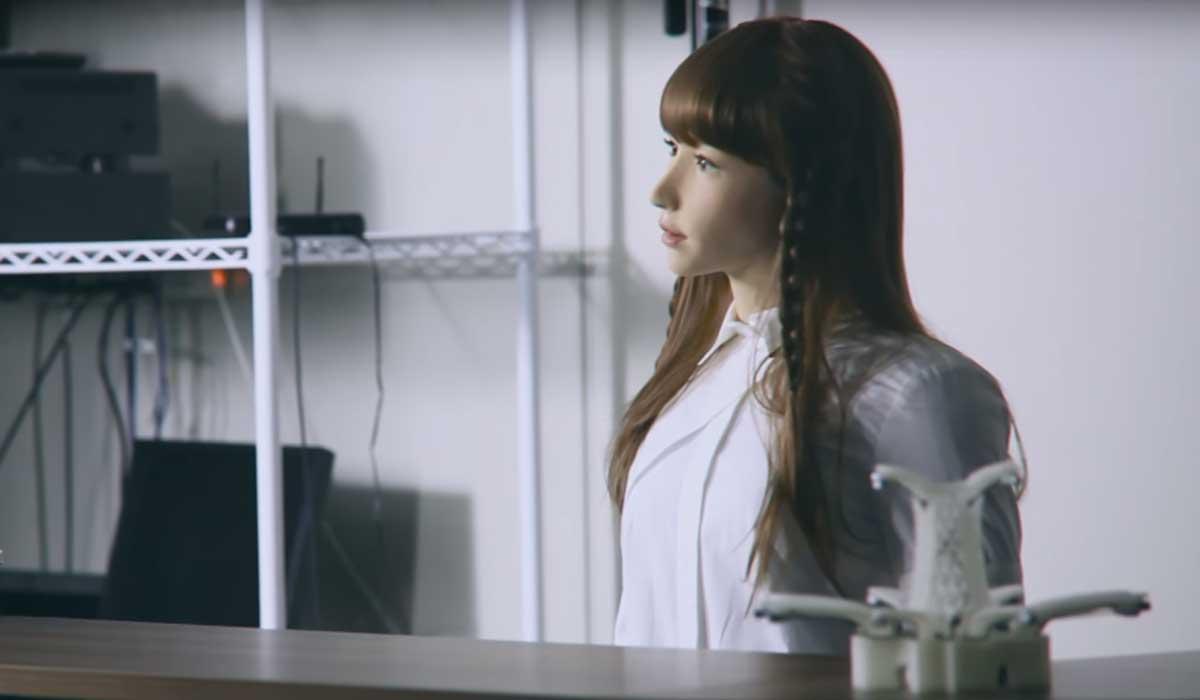Anhand der Roboterdame Erica wollen Menschen herausfinden, was das Menschsein bedeutet. Sie soll eine Persönlichkeit werden.