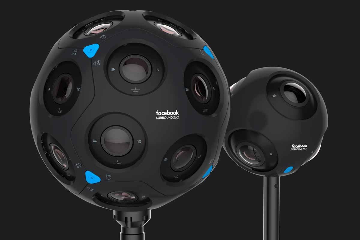 Auf der F8-Entwicklerkonferenz zeigt Facebook eine neue Kamera, die neben Videodaten auch Tiefeninformationen aufzeichnen kann.