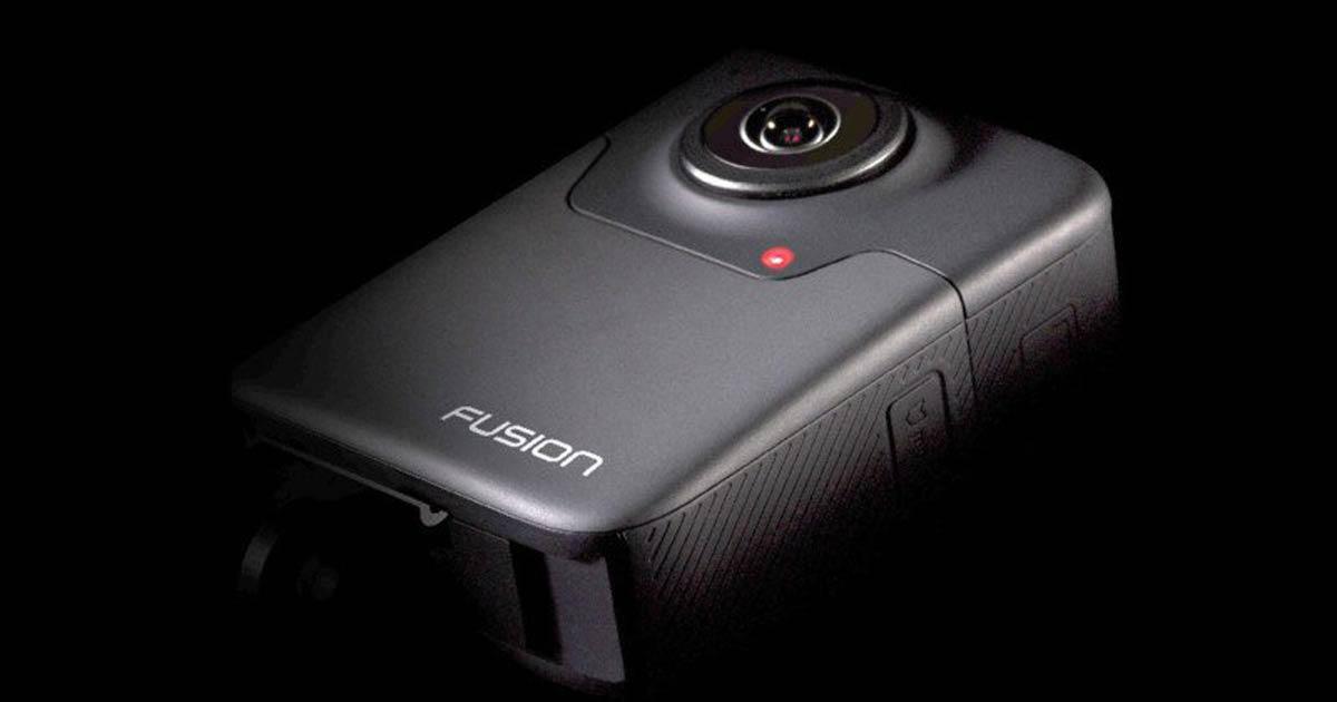Die neue 360-Kamera Fusion kann Videos mit 5,2K aufzeichnen. Sie geht ab November in den Verkauf und kostet 699 US-Dollar.