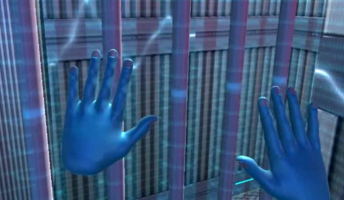 """Wissenschaftlern forschen im Projekt """"VR-Walls"""" daran, die atomfreie Virtual Reality mit gezielten Stromstößen fühlbar zu machen."""