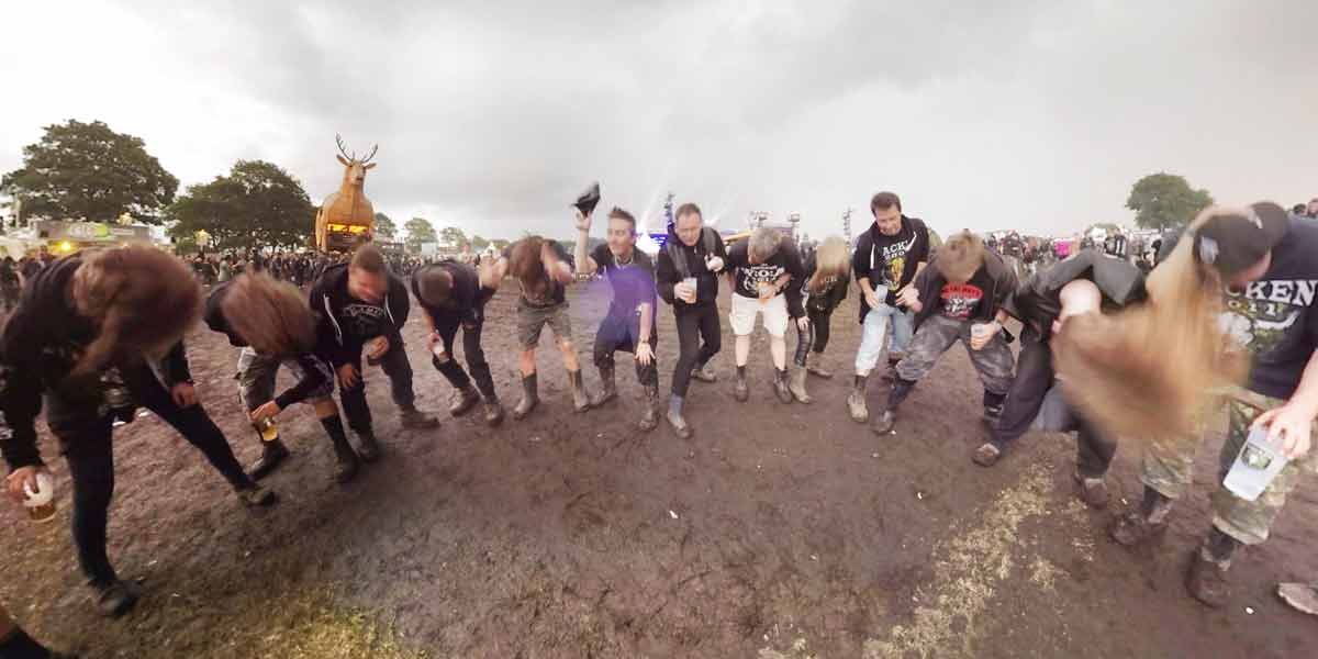 Wacken VR und Ultimate Guitar in Virtual Reality