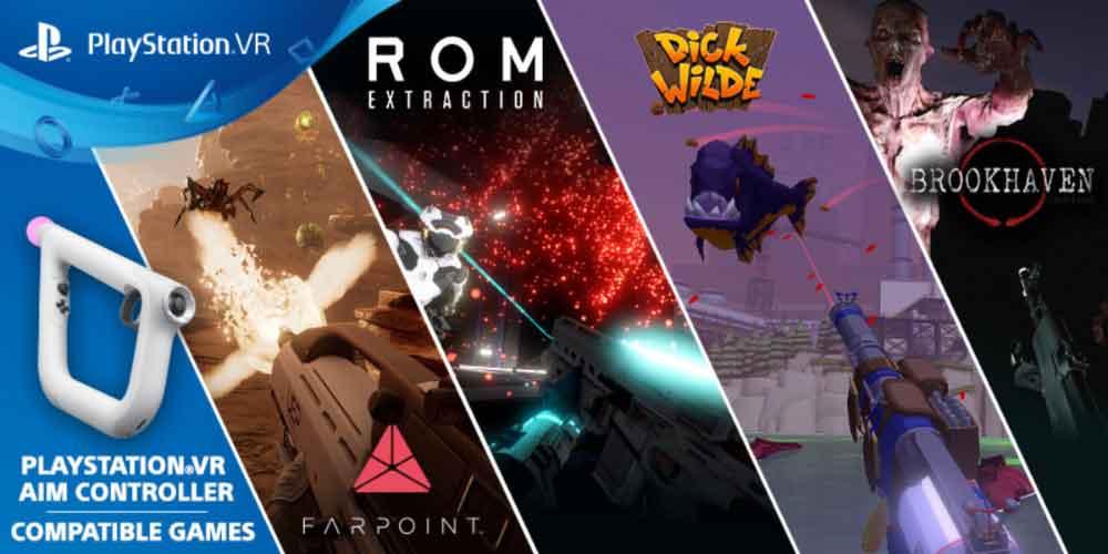 Playstation VR: Breite Unterstützung für Aim Controller angekündigt