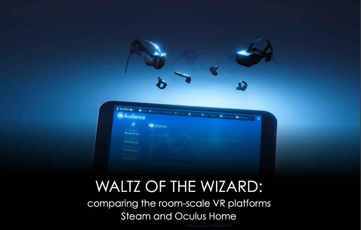 Ein Analyseprogramm wertete 20.000 Spielsitzungen von VR-Nutzern aus. Ein Bericht gewährt Einblick in die hierbei gewonnenen Daten.