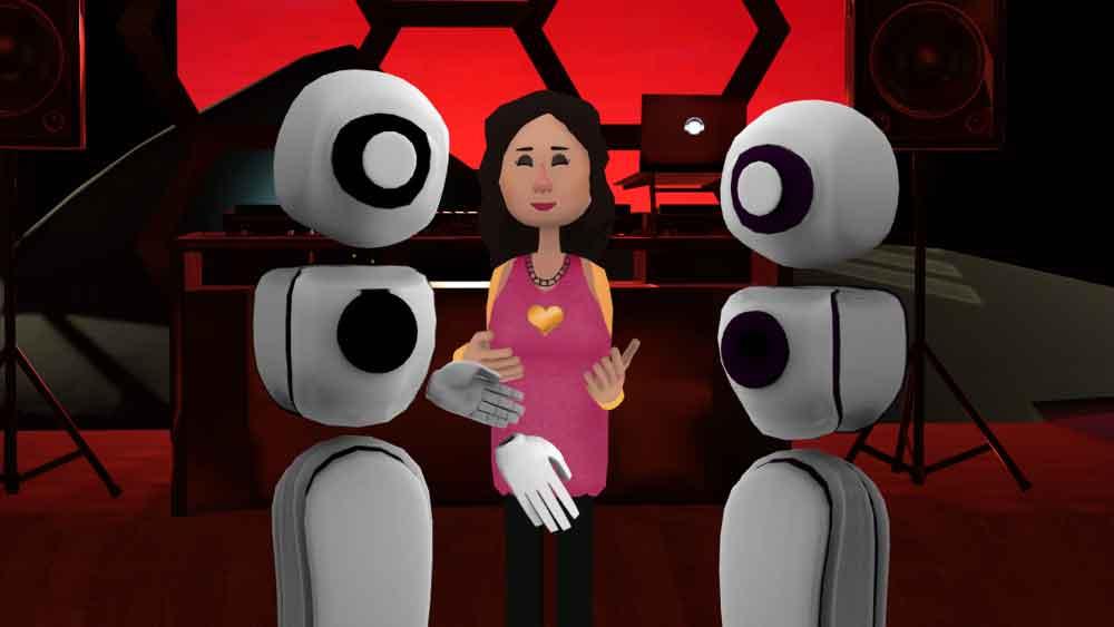 Elisa Evans und Martin Shervington gaben sich das Ja-Wort in der Virtual Reality. Eine Journalistin beschreibt ihre Eindrücke.