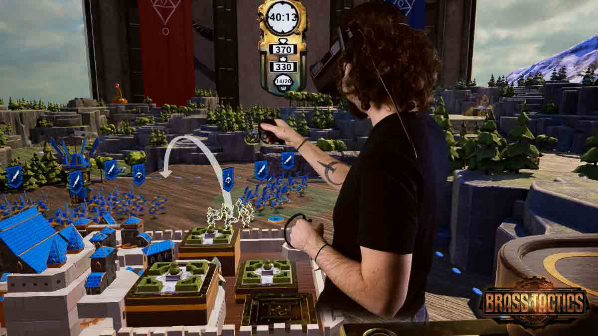 Wie Age of Empires für Virtual Reality: Der Ersteindruck von Brass Tactics für Oculus Rift erinnert an die großen Genre-Klassiker.