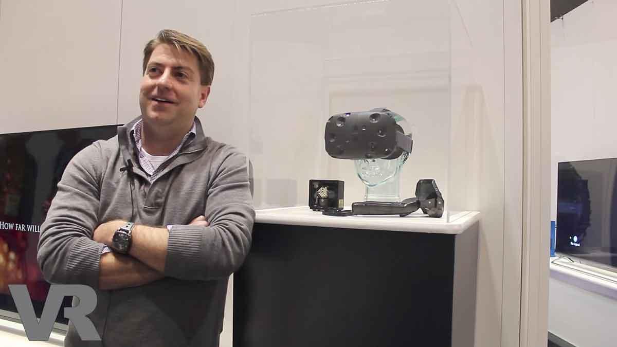 Daniel O'Brien spricht über kommende AAA-Inhalte, das Potenzial von Spielhallen und die modulare Erweiterbarkeit von HTC Vive.