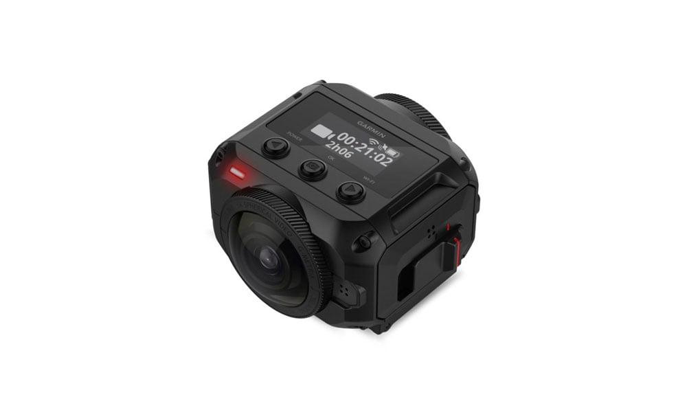 Garmins neue Action-Cam bietet 360-Grad-Aufnahmen in 5,7K