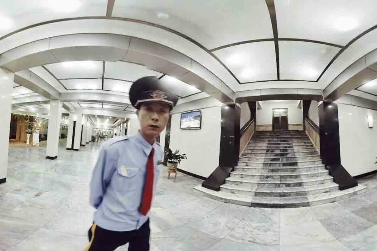 Mit einer 360-Grad-Erfahrung kann man eine Reihe von Sehenswürdigkeiten und Orten in Pjöngjang besichtigen.
