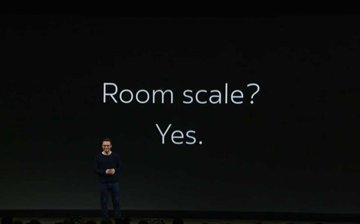Room-Scale-VR mit drei Sensoren gilt offiziell nicht mehr als experimentell. Das 360-Tracking-Tracking mit zwei Sensoren bleibt es jedoch.