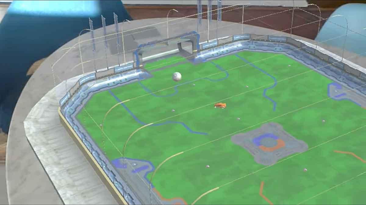 """Javier Davalos ist ein großer Fan des Videospielhits """"Rocket League"""". Nun hat er einen Protoyp des Spiels für Hololens entwickelt."""