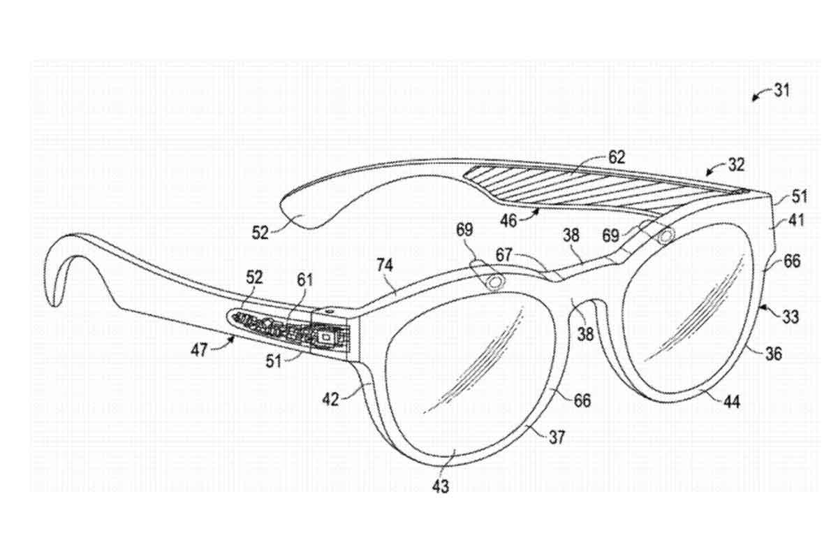 Ein Patentantrag beschreibt eine Technologie, die die Realität mittels GPS-Ortung und einer Bilddatenbank um digitale Elemente erweitert.