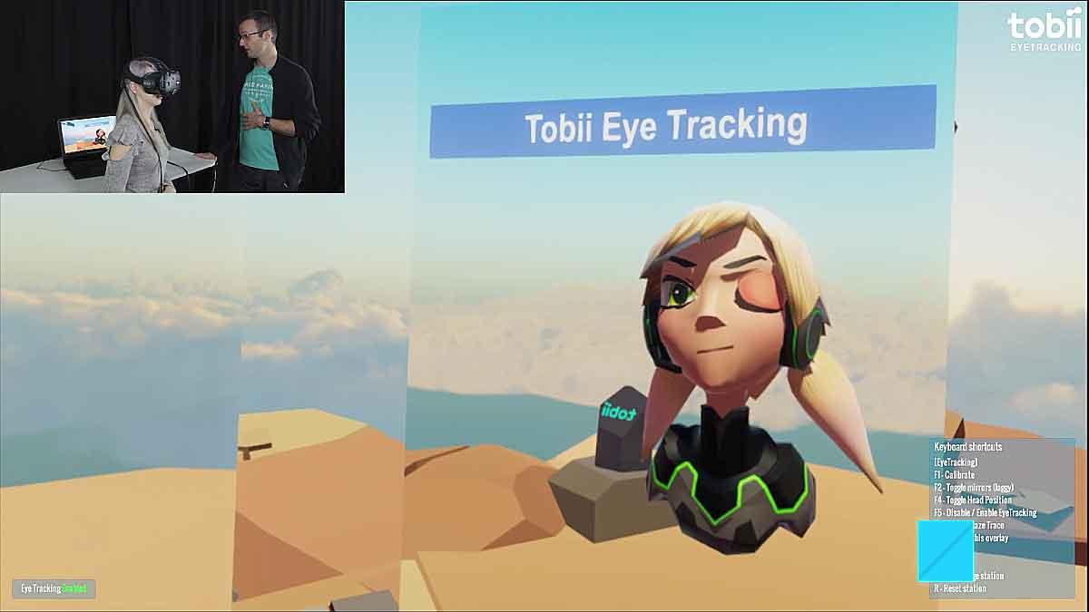 Eye-Tracking ist eine Schlüsseltechnologie für Virtual Reality, die schon bald zur Standardausstattung von VR-Brillen gehören wird.