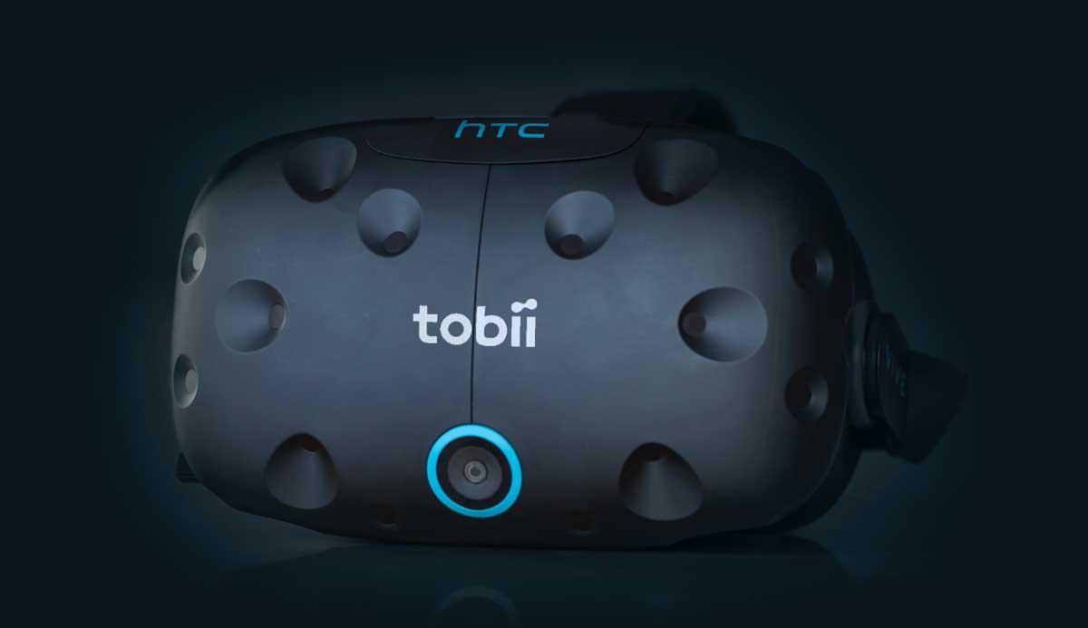 Tobiis Devkit umfasst eine HTC Vive mit integriertem Eye-Tracking und ein SDK, mit dem man erste Anwendungen schreiben kann.