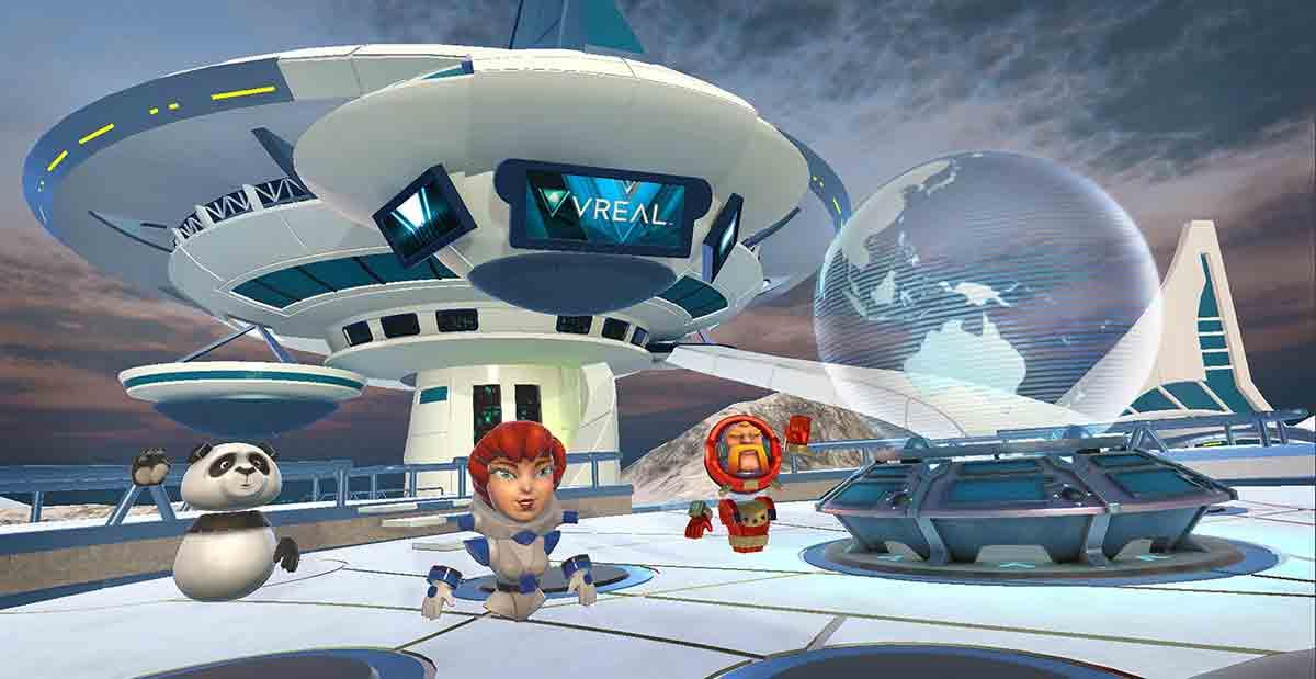 Wie überträgt man Spiele, die in Virtual Reality stattfinden? Vreal arbeitet an einer Lösung, die Zuschauer in laufende VR-Spiele beamt.