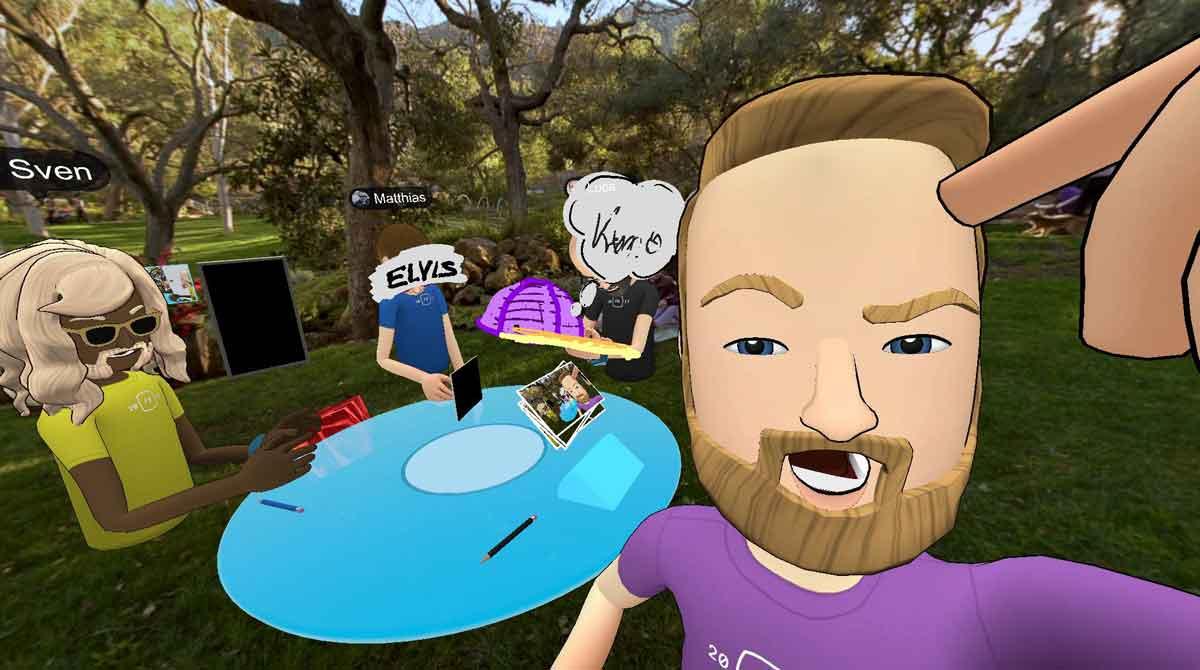 Mit Virtual Reality entsteht ein völliger neuer Weg, wie Menschen sich über den Computer begegnen.