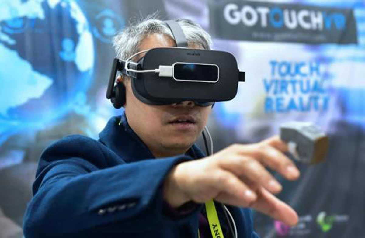 Go Touch VR: Simples haptisches Feedback für die Fingerspitze