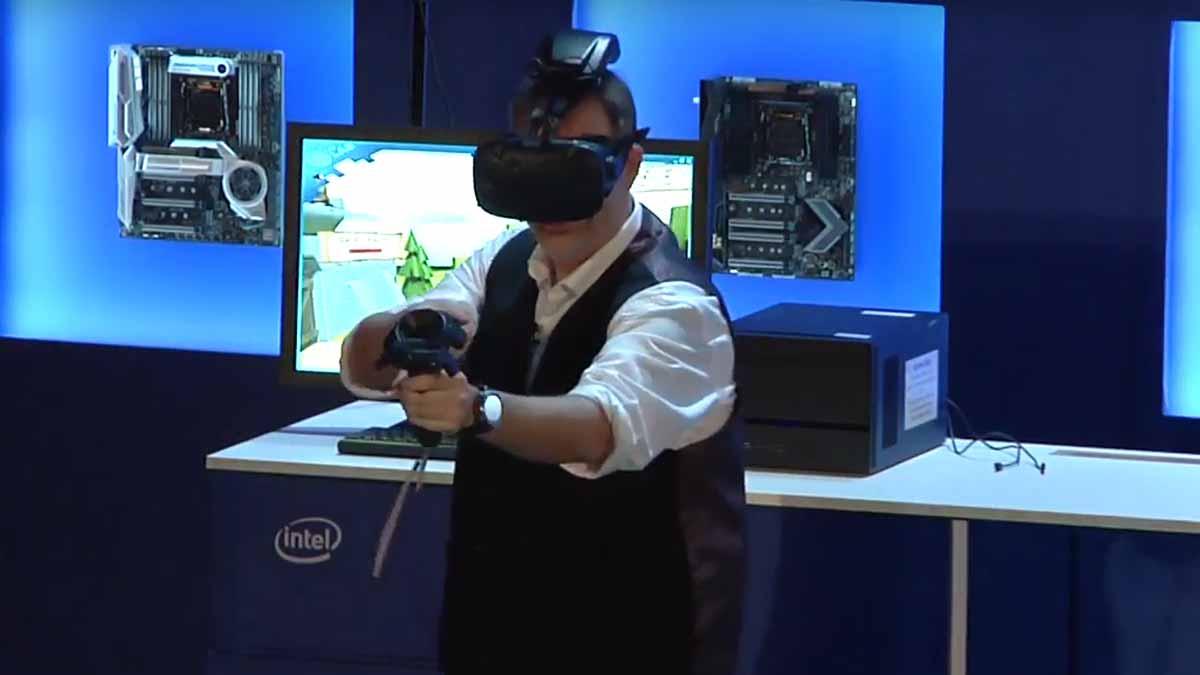 Auf der Computex Fachmesse in Taipei kündigen HTC Vive und Intel das Wigig-Drahtlosmodul für HTC Vive offiziell an.