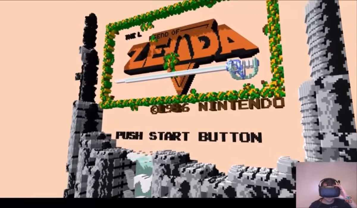 Ein NES-Emulator für Oculus Rift und HTC Vive rekreiert klassische 2D-Spielewelten in 3D und macht sie aus der Egoperspektive begehbar.