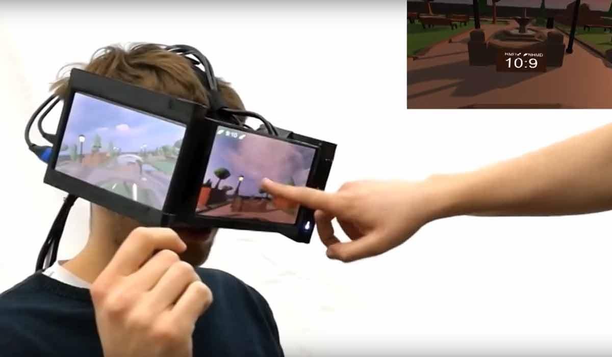 Wissenschaftler der Universität Ulm versuchen ein großes Problem der VR-Brille mit einem unkonventionellen Ansatz zu lösen.