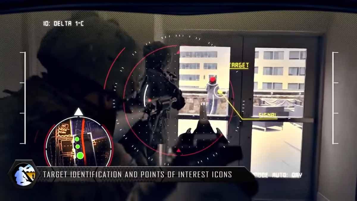 """Die neue """"Tactical Augmented Reality""""-Brille für US-Soldaten sieht so aus, als sei sie direkt einem Videospiel entsprungen."""