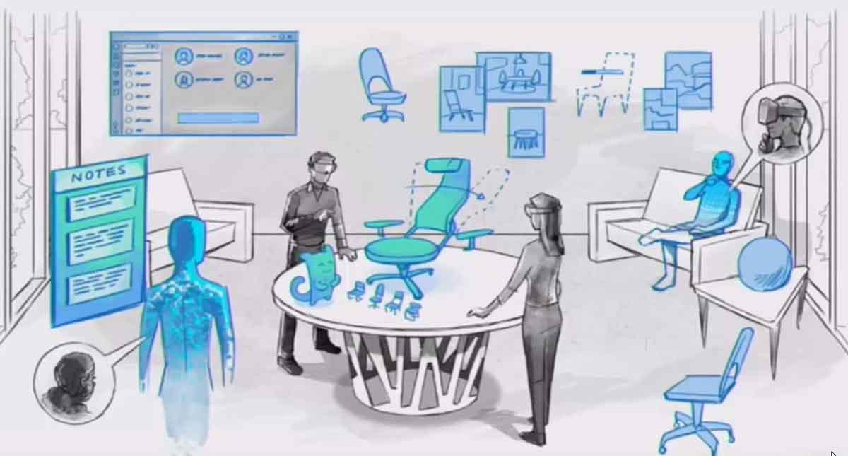 Hololens und Windows Mixed Reality sollen einen Paradigmenwechsel vom Personal Computer hin zur kollaborativen Kommunikationswelt einleiten.