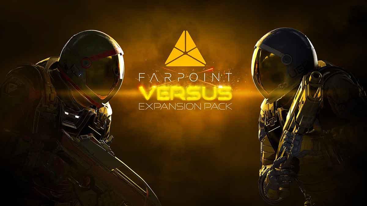 """Das zweite Erweiterungspaket """"Versus"""" kann ab sofort heruntergeladen werden. Es lässt Farpoint-Spieler in Arenen gegeneinander antreten."""