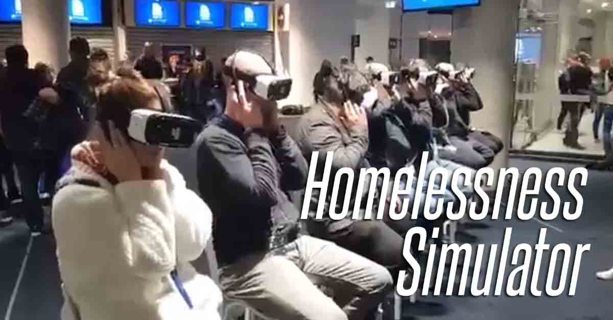 """In der Branche wird die VR-Brille häufig als """"Empathiemaschine"""" vermarktet. Nutzer bei Twitter haben für diese Annahme nur Spott übrig."""