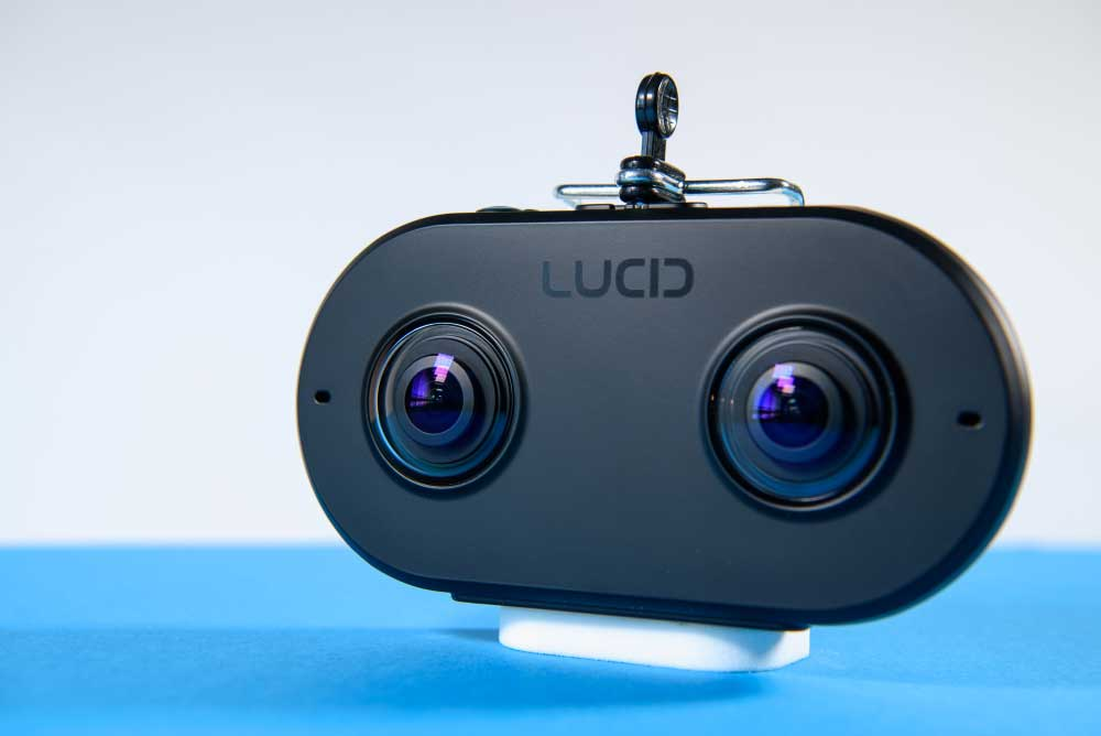 Nach zwei Jahren in der Entwicklung erscheint die Lucidcam gerade rechtzeitig zu Googles Ankündigung eines 180-Grad-Videoformats.