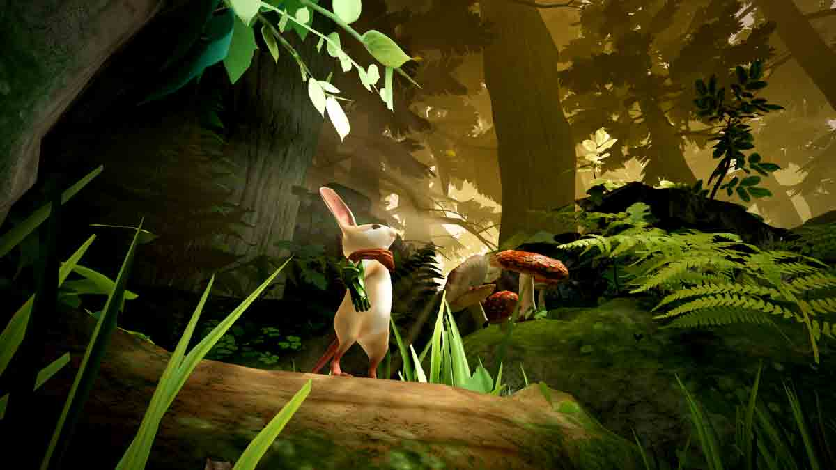 Mit Moss erscheint der erste Puzzle-Hit des Jahres für Playstation VR. Das Spiel mit der Maus sieht selbst auf der herkömmlichen Playstation 4 verblüffend gut aus.