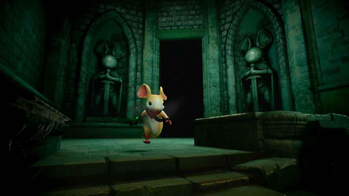 """Das Maus-Abenteuer """"Moss"""" für Playstation VR wurde von Kritikern als VR-Gaming-Meilenstein gefeiert. Jetzt erscheint es für Oculus Rift und HTC Vive und möglicherweise weitere VR-Brillen."""