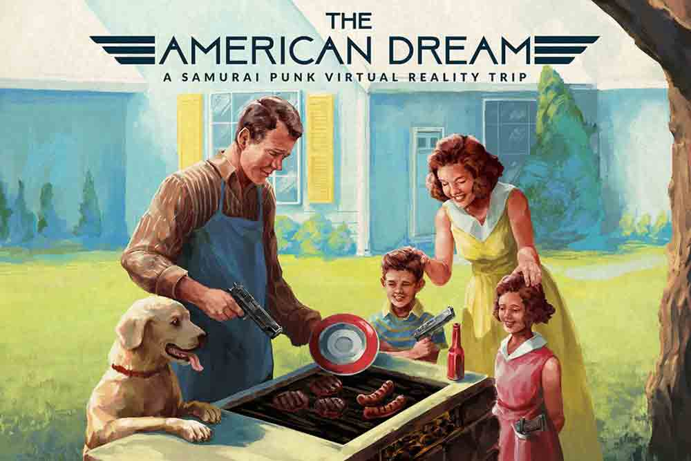 """""""The American Dream"""" versetzt den Spieler in ein fiktives Amerika der 50er-Jahre, in der Pistolen und Gewehre den Alltag dominieren."""