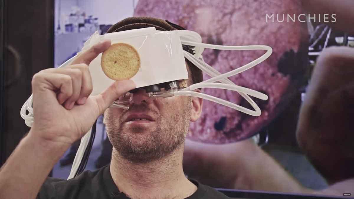 Virtual Reality: Wissenschaftler forscht an virtuellen Keksen