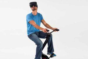Virzoom bringt einen Sensor auf den Markt, der an jedem Heimtrainer befestigt werden kann und unterstützt ab sofort Samsung Gear VR.
