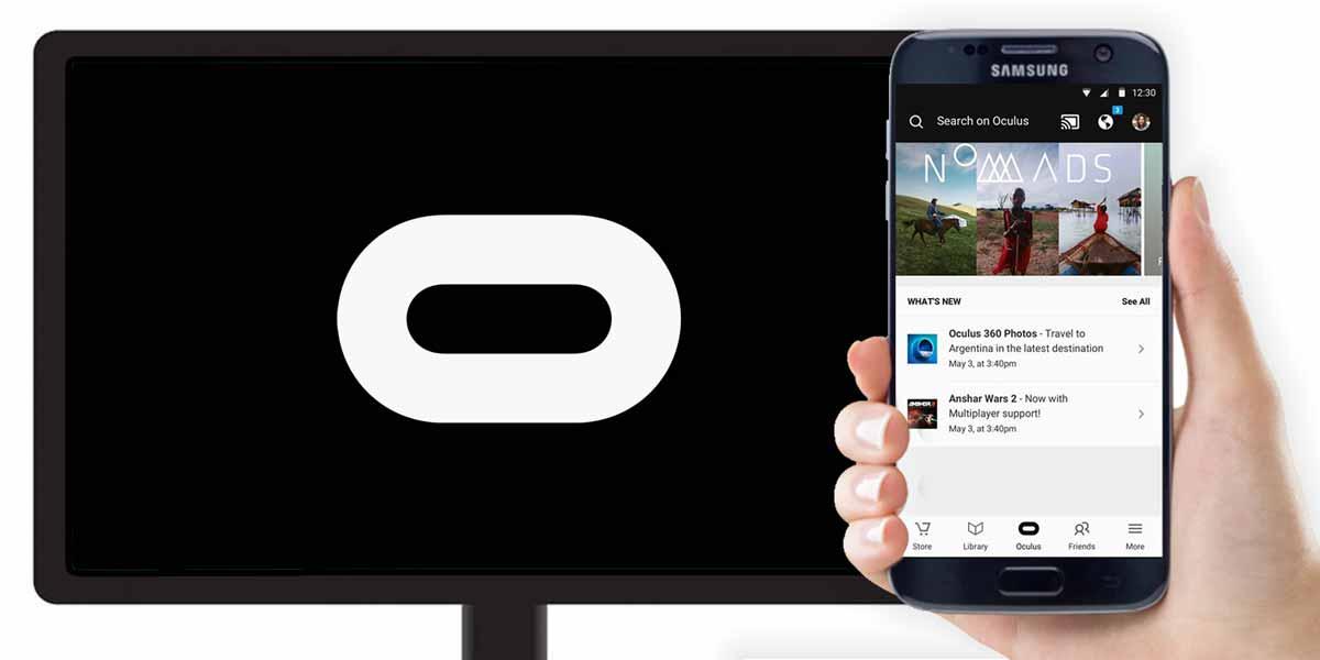 Mit Samsung Gear VR lassen sich VR-Inhalte ab sofort via Google Chromecast auf den großen TV-Screen teilen. Das soll für ein sozialeres VR-Erlebnis sorgen.