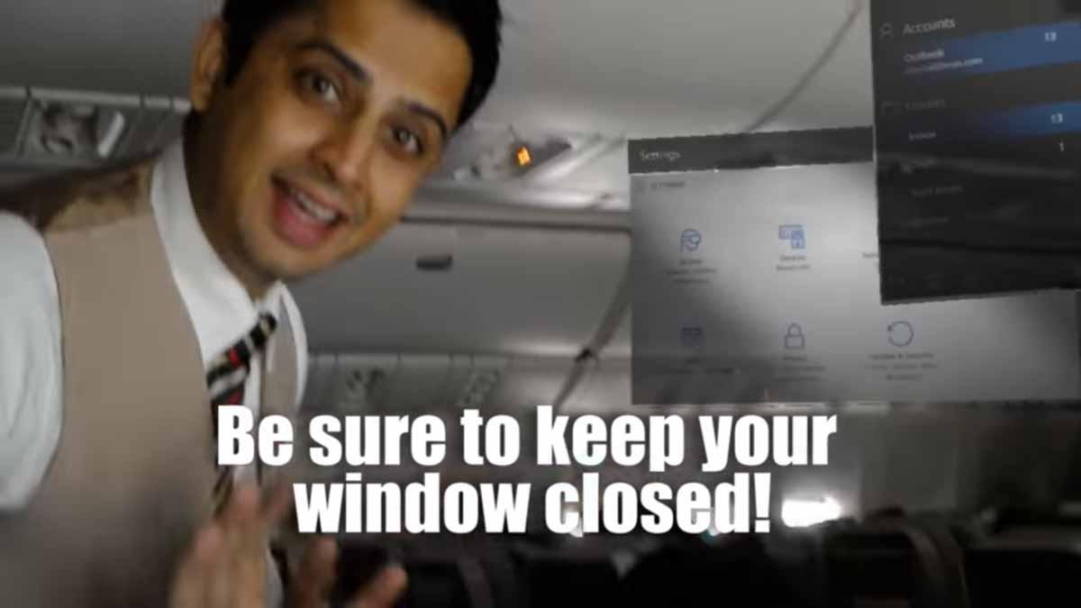 Donald Trumps Laptop-Verbot versteht Microsofts Hololens nicht. Ein Passagier aus Dubai nutzt die behördliche Wissenslücke geschickt aus.