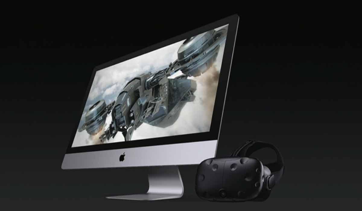 HTC Vive wird die Mac-Brille für Virtual Reality. Für HTC ist die Partnerschaft ein wichtiger Schritt auf dem Weg zum Highend-Branchenprimus.