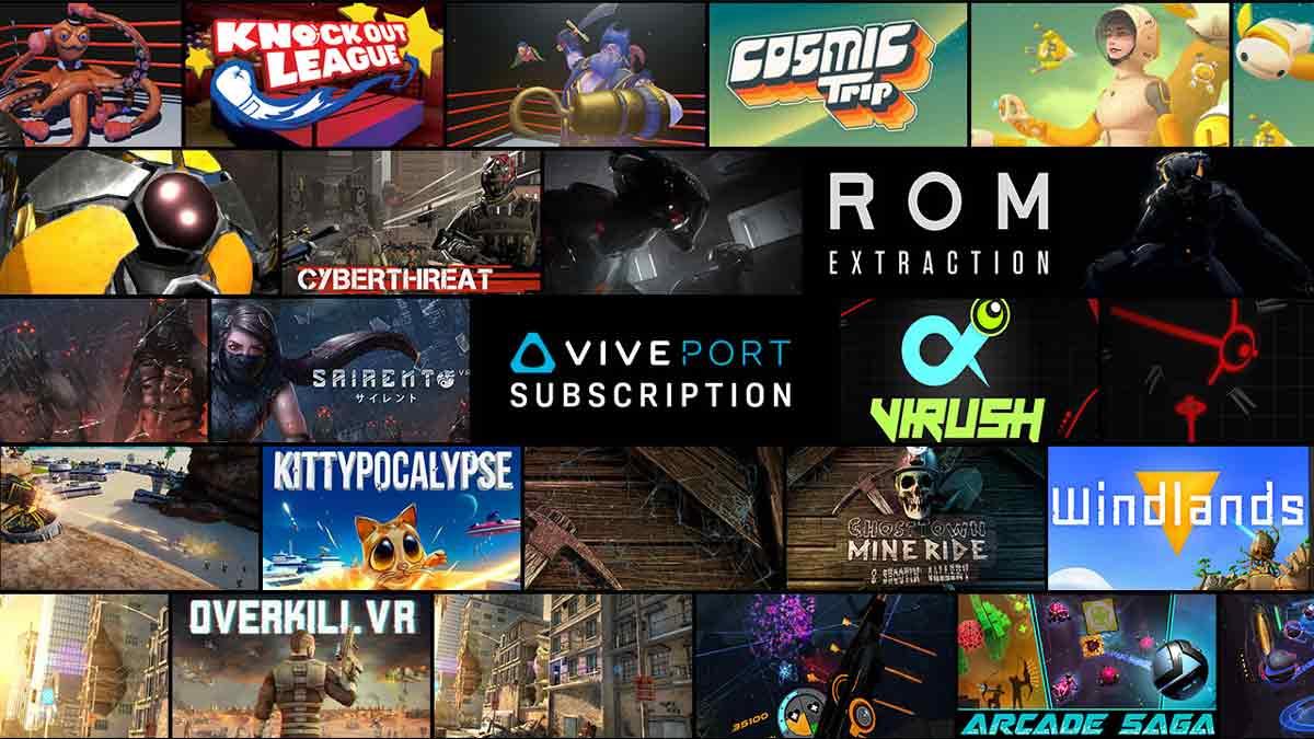 Mit dem Viveport-Abo will HTC das Netflix für Virtual Reality werden. Es soll zukünftig auch für Oculus Rift oder Daydream angeboten werden.