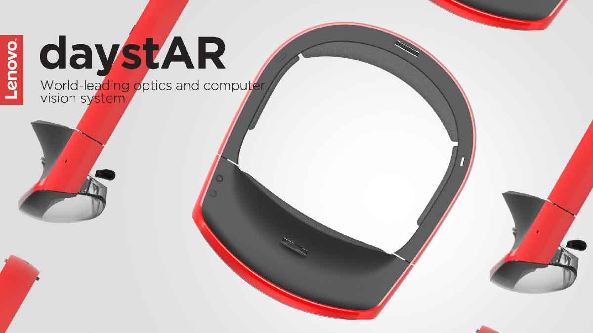 """Lenovo stellte auf einer Konferenz eine neue AR-Brille vor. Bis jetzt sind nur wenige Einzelheiten zum """"DaystAR"""" genannten Gerät bekannt."""