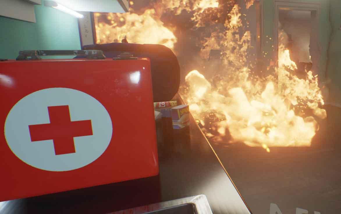 Eine neue VR-App zeigt Nutzern, wie man sich im Falle eines Erdbebens verhalten muss, um sich und andere in Sicherheit zu bringen.